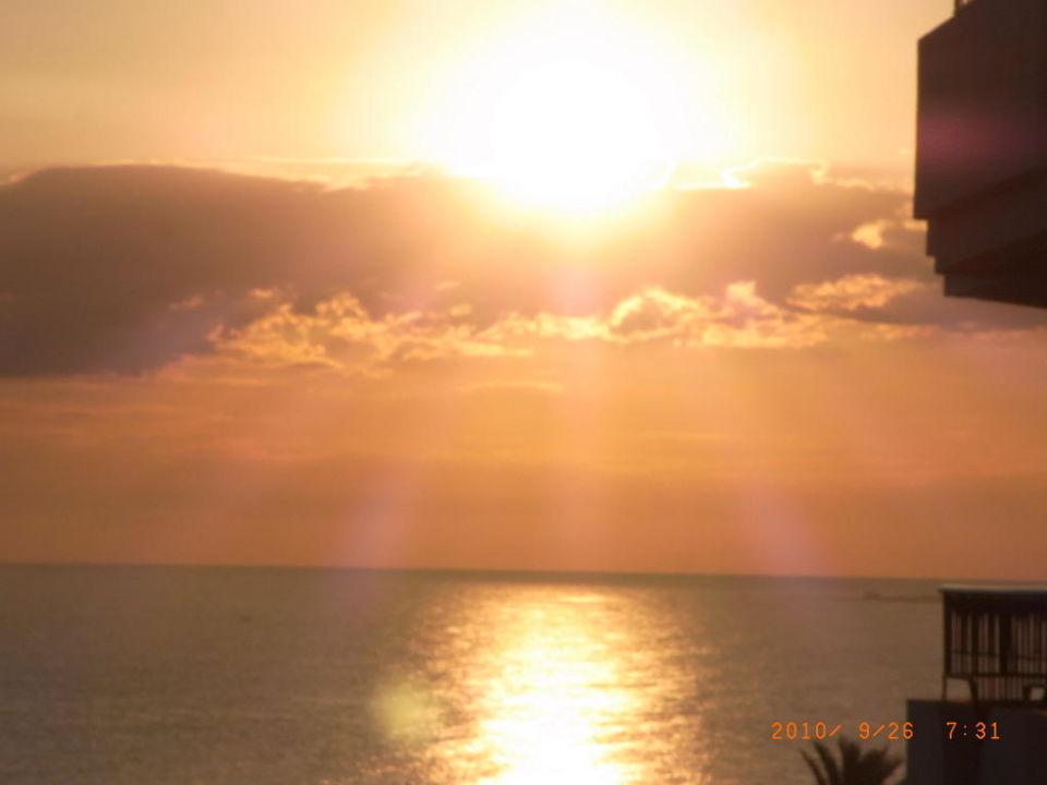 Sonnenaufgang IBEROSTAR Royal El Mansour & Thalasso