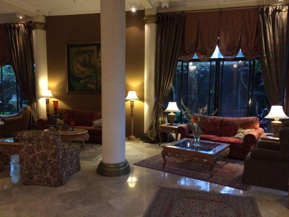 Nice lounge Hotel Saraswati Borobudur