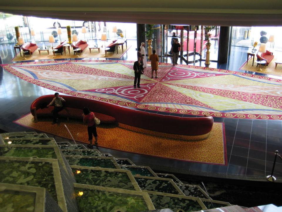 Eingang und Lobby Burj Al Arab