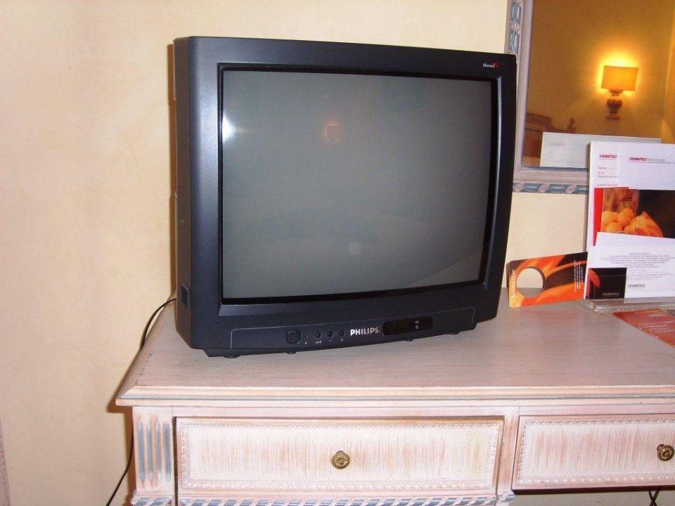Fernseher im Michelangelo Starhotels Michelangelo
