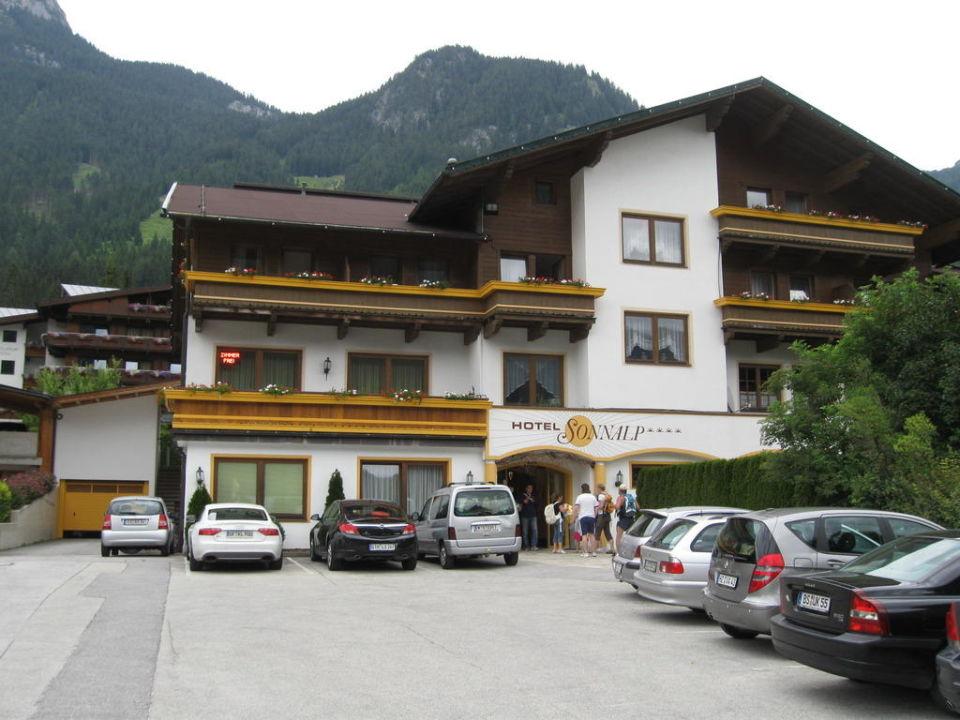 Liegewiese Hotel Sonnalp