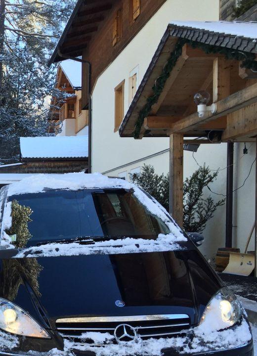 La partenza  Pensione Villa Soreghina
