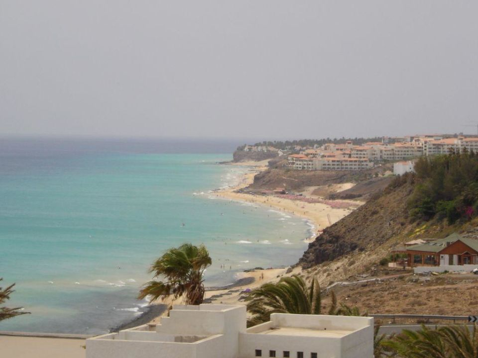 Blick vom 8ten Stock SBH Club Paraiso Playa