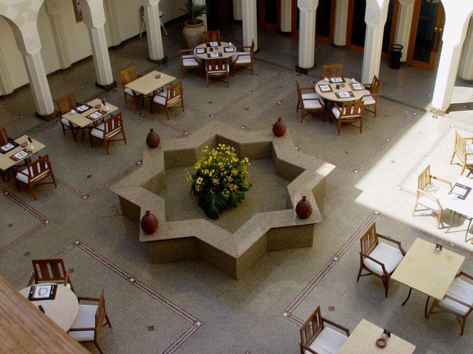 Innenhof The Oberoi Sahl Hasheesh