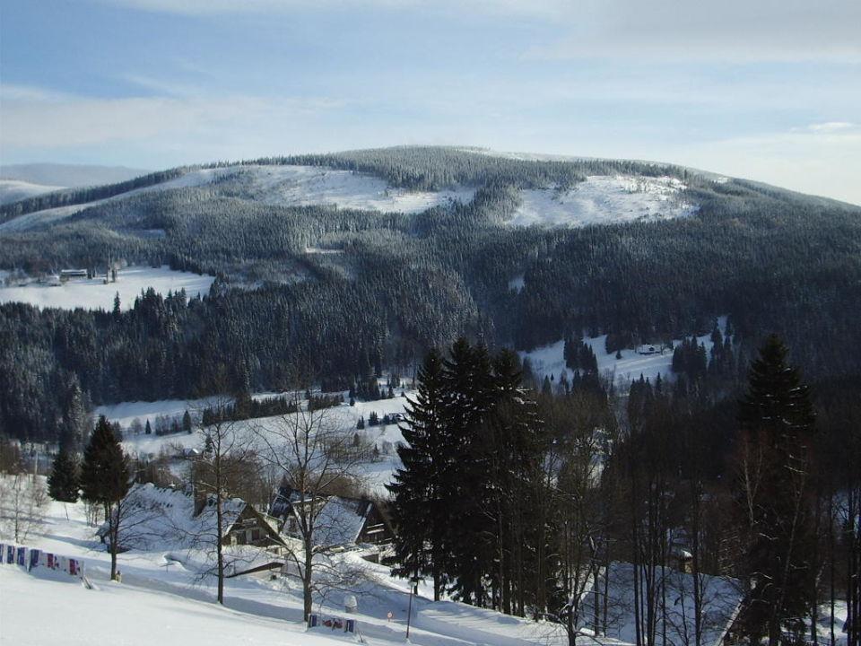 Panorama vor dem Hotel Hotel Schweizer Baude