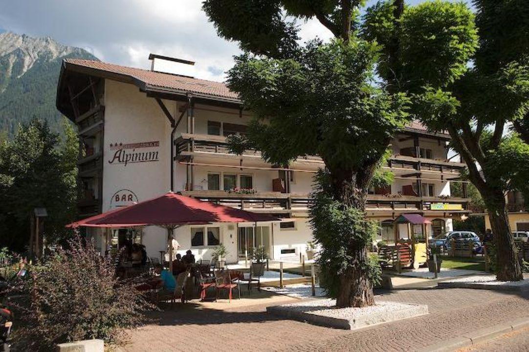 Aussenansicht Residence Hotel Alpinum
