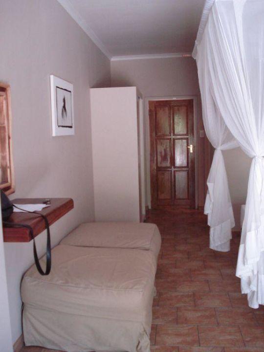 Von der Terrasse aufgenommen Hotel Halali Camp