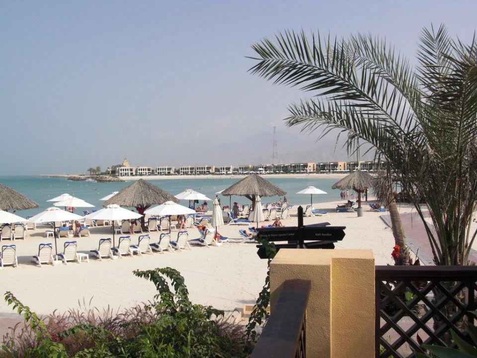 Blick auf den Strand Hilton Ras Al Khaimah Resort & Spa