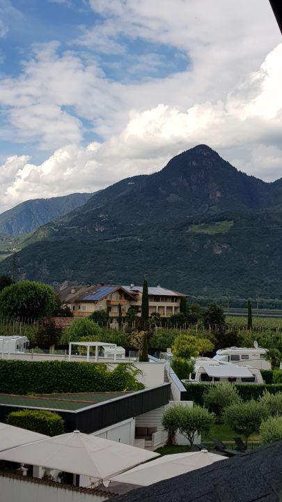 Blick vom Zimmer Hotel & Resort Schlosshof