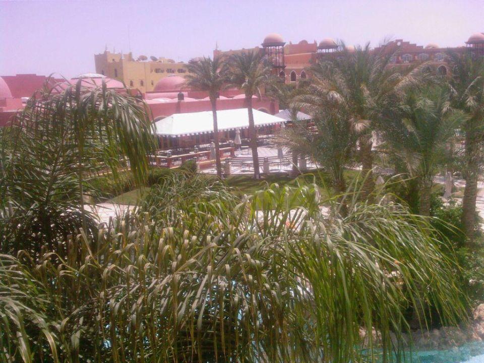 Blick vom Balkon The Grand Resort