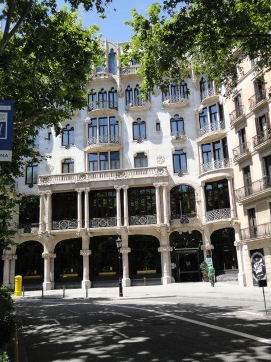 Eingang Hotel Casa Fuster