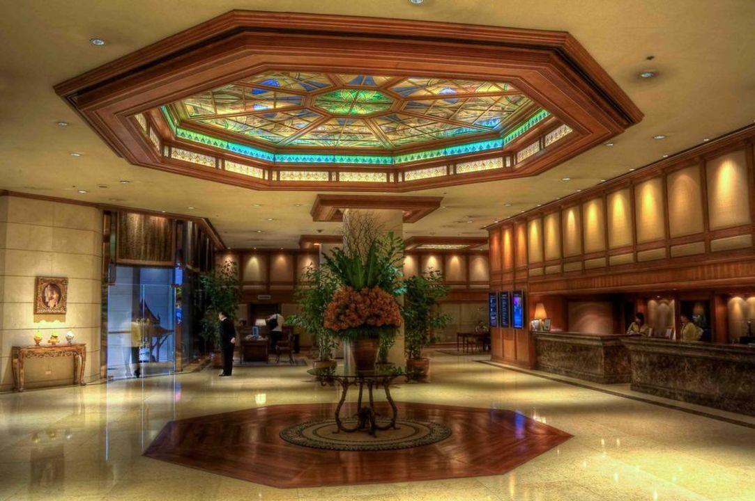 Die Lobby The Landmark Hotel Bangkok