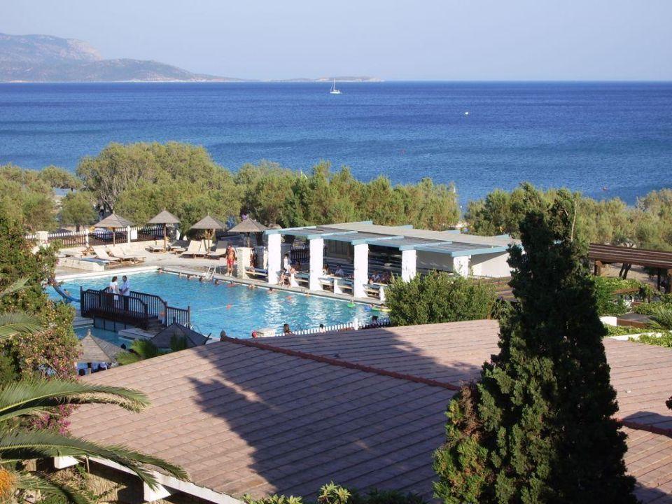 Ausblick vom Hotel Doryssa Seaside Resort