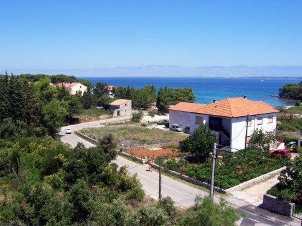 Widok z hotelu Hotel Villa Stari Dvor