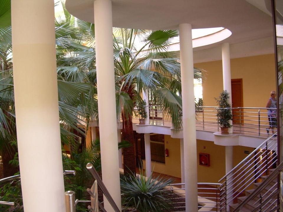 Innenhof vom Hotel allsun Hotel Orient Beach