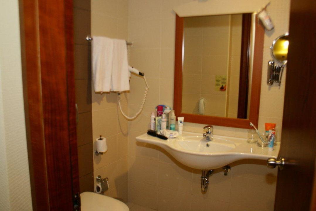 Bad im Sparzimmer Belek Beach Resort Hotel