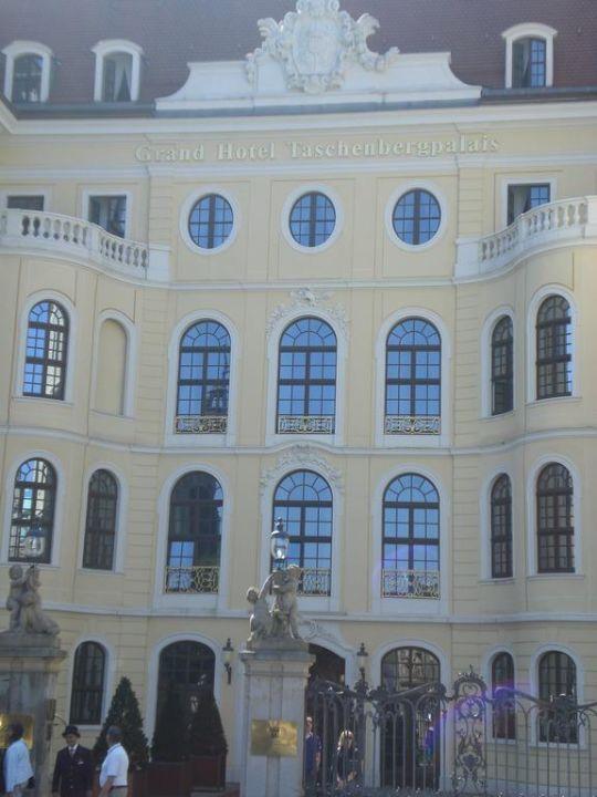 Brunnenanlage Hotel Taschenbergpalais Kempinski Dresden