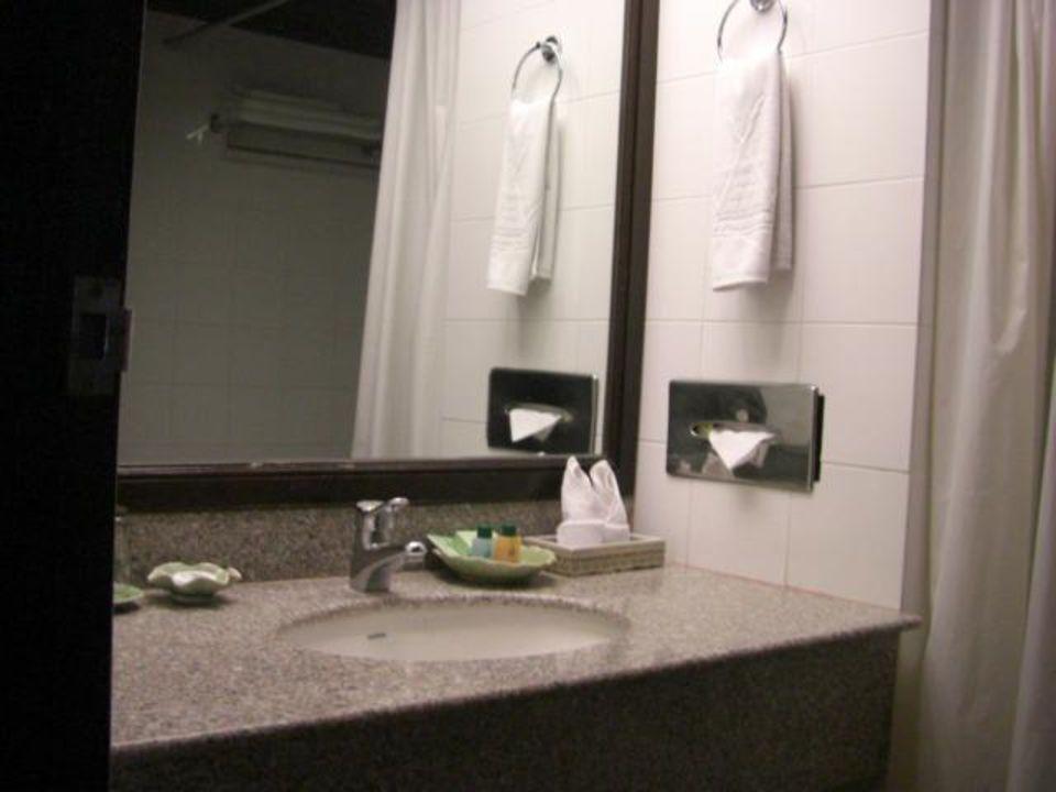 Badezimmer Hotel Wiang Inn