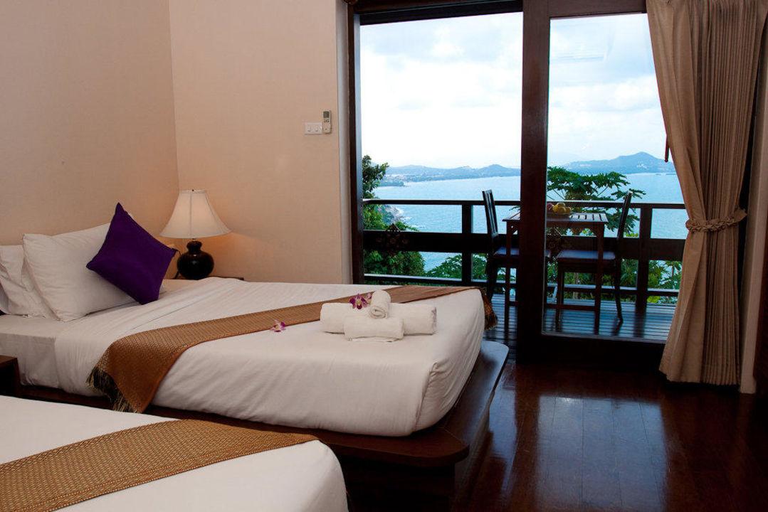 Ocean View 3 Bedroom Pool Villa Leelawadee Sandalwood Luxury