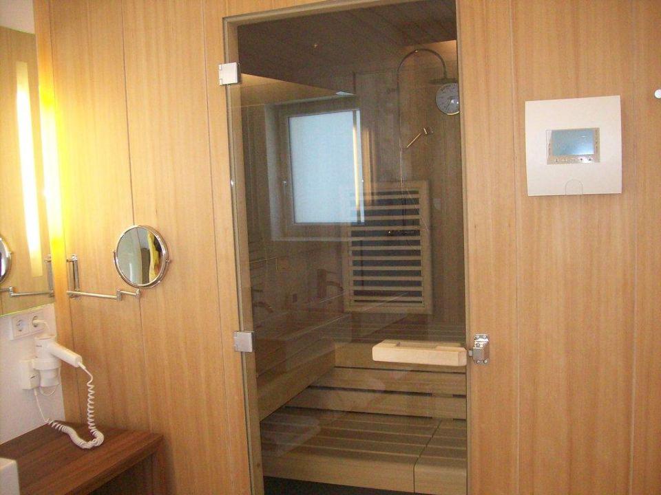 Sauna im Zimmer Hotel Christkindlwirt