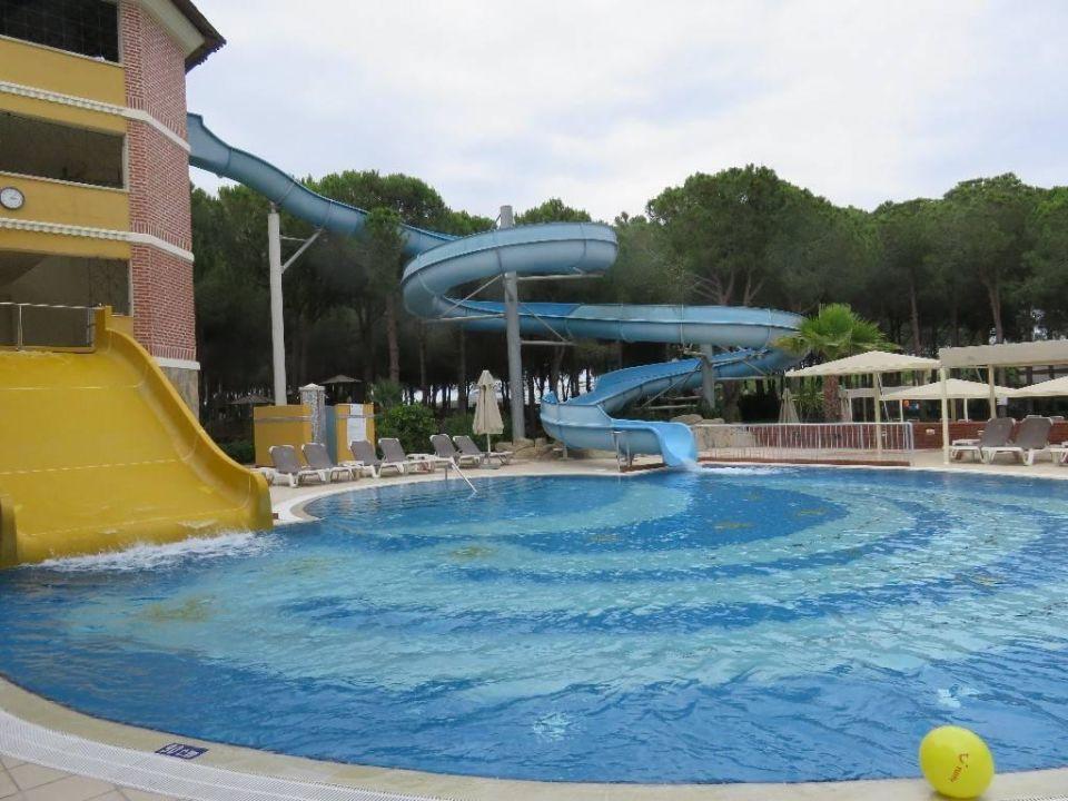 Kleinen pool mit rutsche robinson club nobilis belek holidaycheck t rkische riviera t rkei - Pool mit rutsche ...