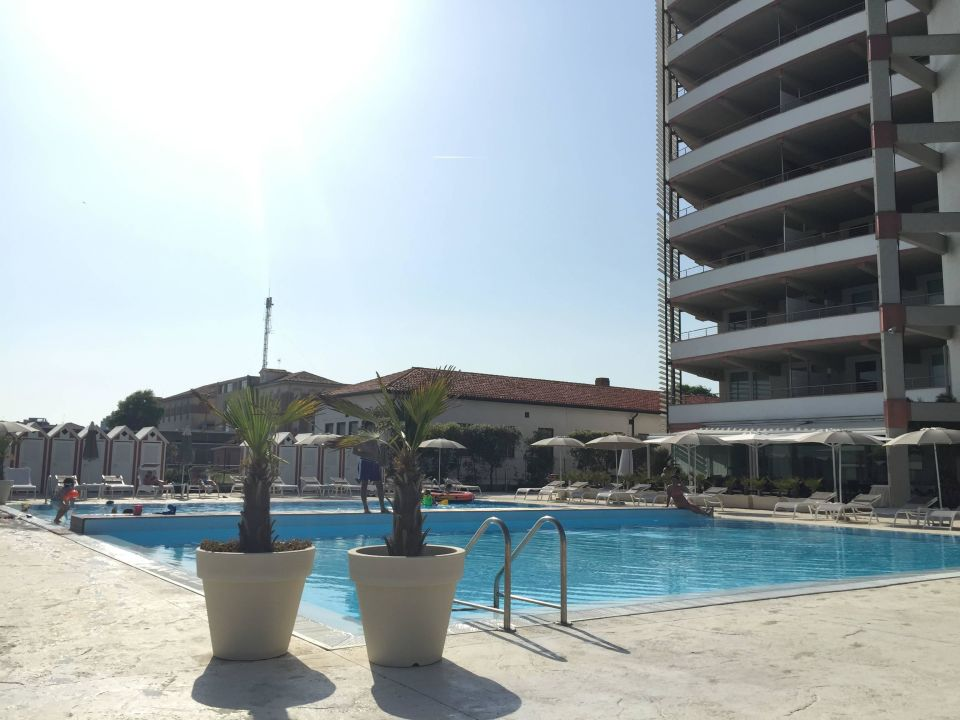 Traumhafter Pool Hotel Adriatic Palace