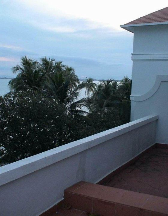 From balcony Eastern and Oriental Hotel Penang