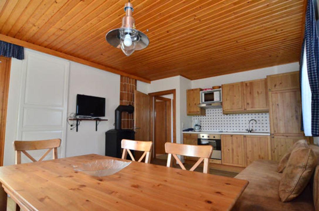"""Wohnküche Landhaus bungalow wohnküche"""" landhaus klopein (st. kanzian am klopeiner see"""