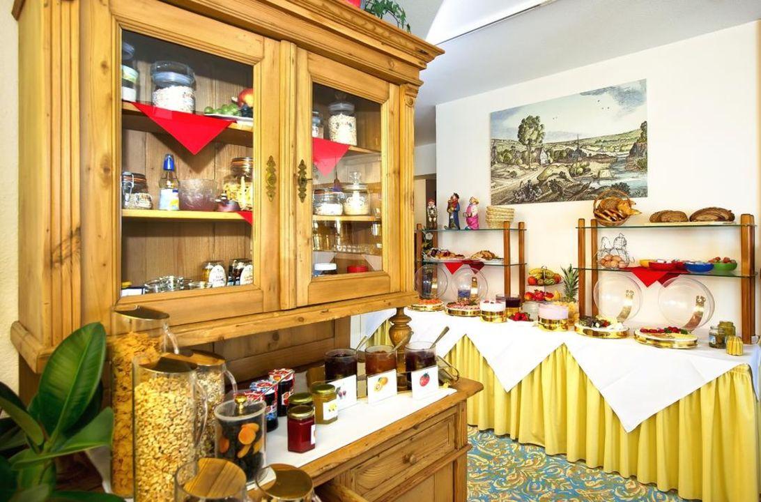 Guter Start in den Tag mit unserem Frühstück  Hotel Merian Rothenburg