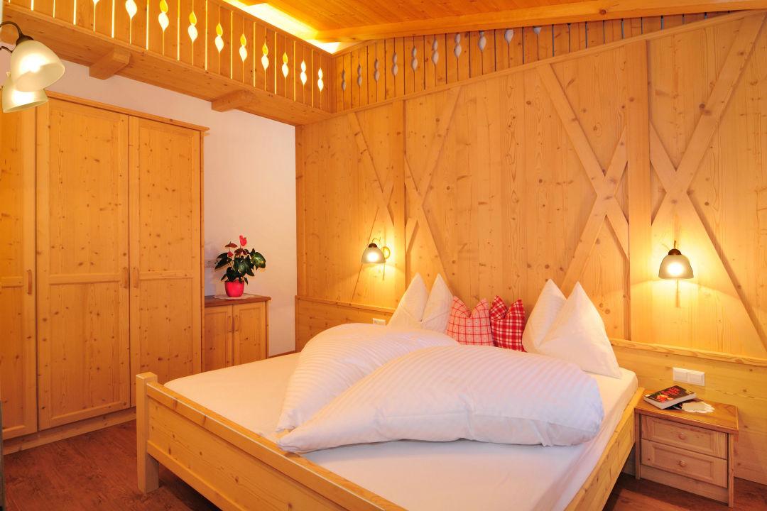 Zimmer der Ferienwohnung St. Christoph Ferienwohnungen Röschhof