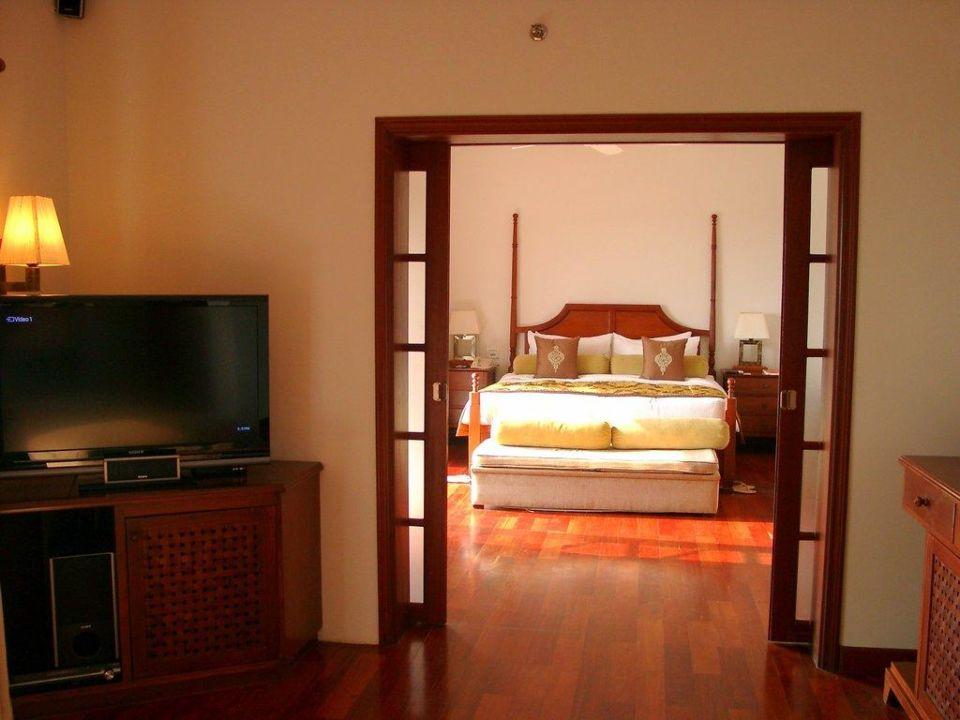 Das Schlafzimmer Hotel Vivanta by Taj Kovalam