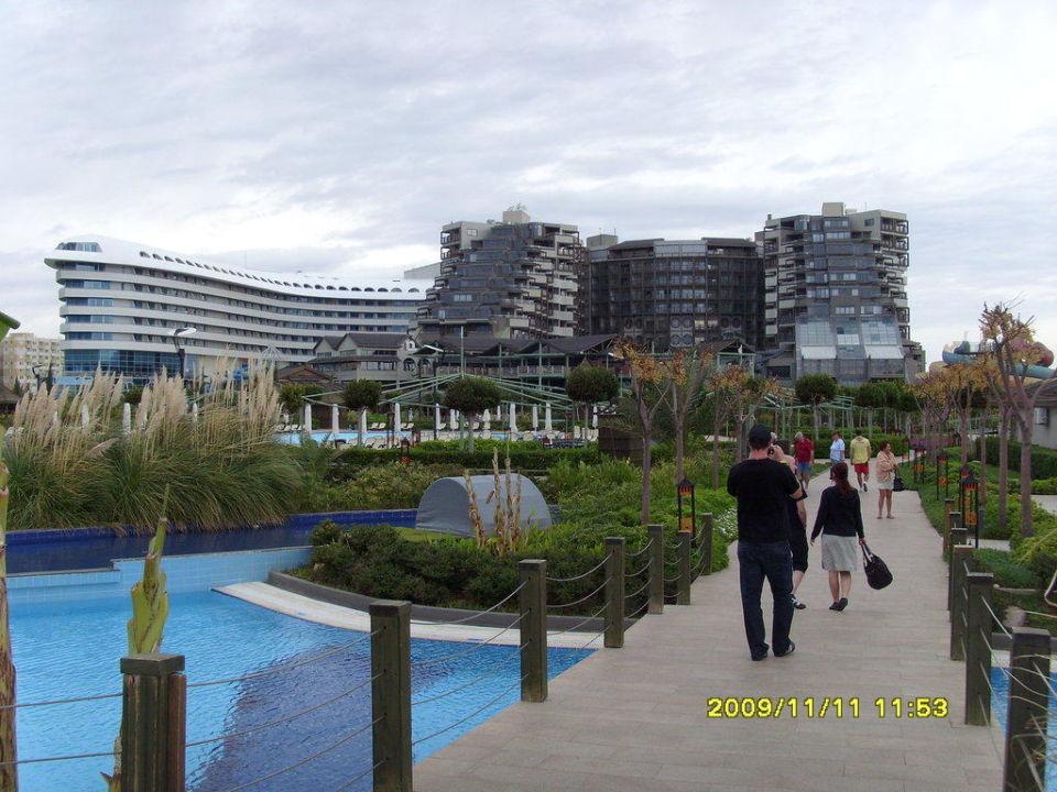 Hotel blick von garten Hotel Limak Lara de Luxe