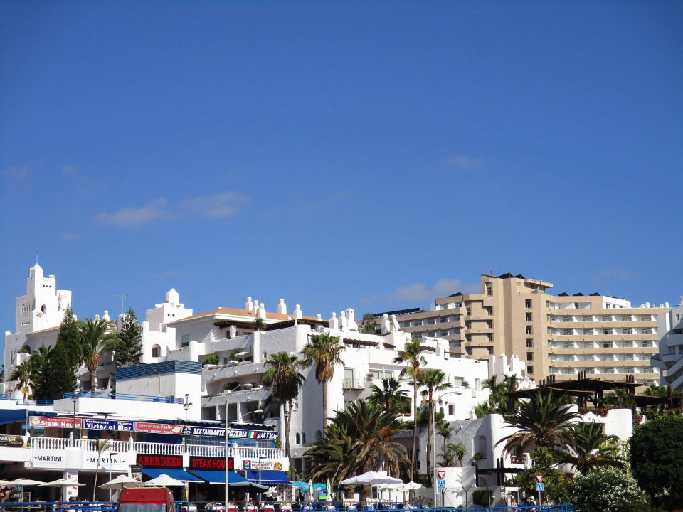 Blick Vom Strand Richtung Hotel Allsun Hotel Los Hibiscos Costa