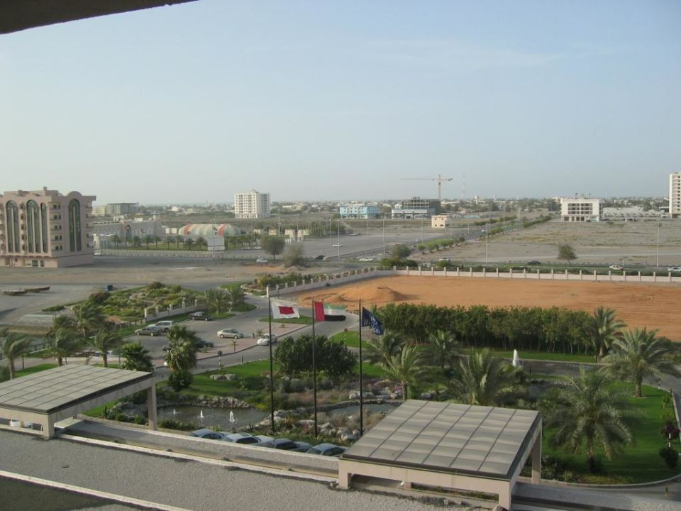 Blick aus Hotelzimmer Hilton Garden Inn Ras Al Khaimah