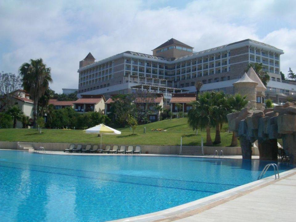 Hotel vom Pool aus Horus Paradise Luxury Resort & Club