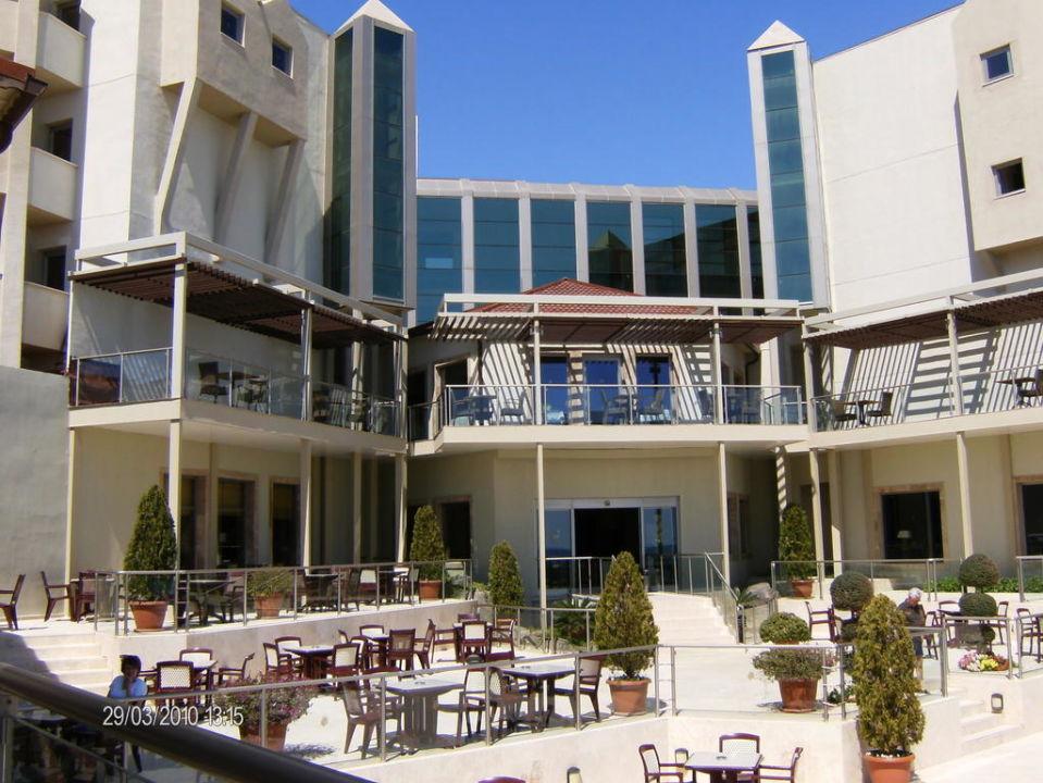 Hotel vom Pool gesehen Arcanus Side Resort