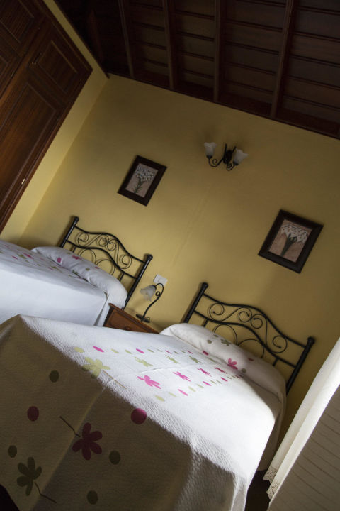 Schlafzimmer Country house Santa Lucia