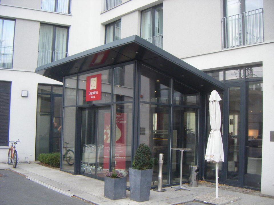 Bild eingang zu leonardo hotel dresden altstadt in dresden for Dresden altstadt hotel