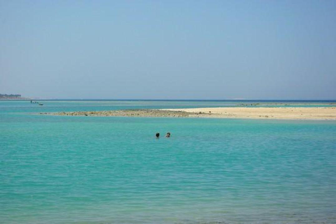 Widok na lagunę Hotel Harmony Makadi Bay