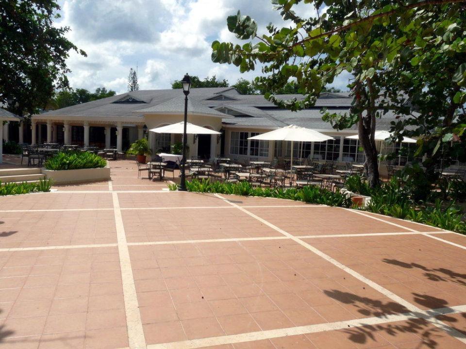 Buffetrestaurant, Ansicht vom Hintereingang Grand Bahia Principe El Portillo
