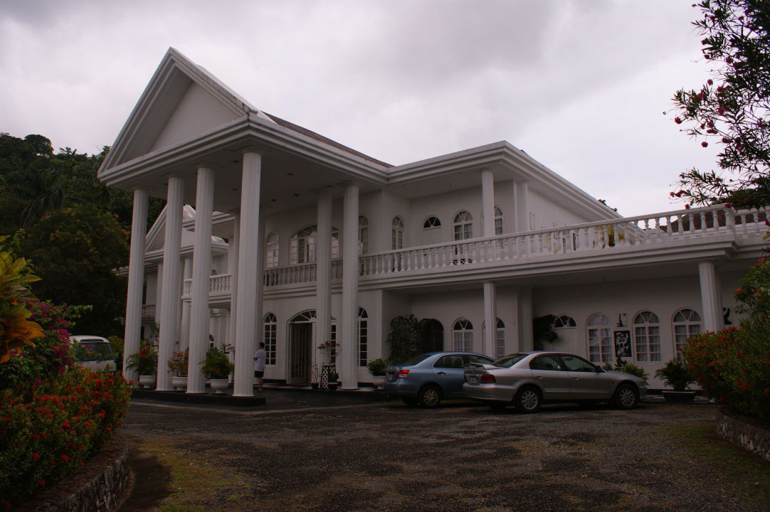 Jamaikförmiger Pool Hotel Jamaica Palace