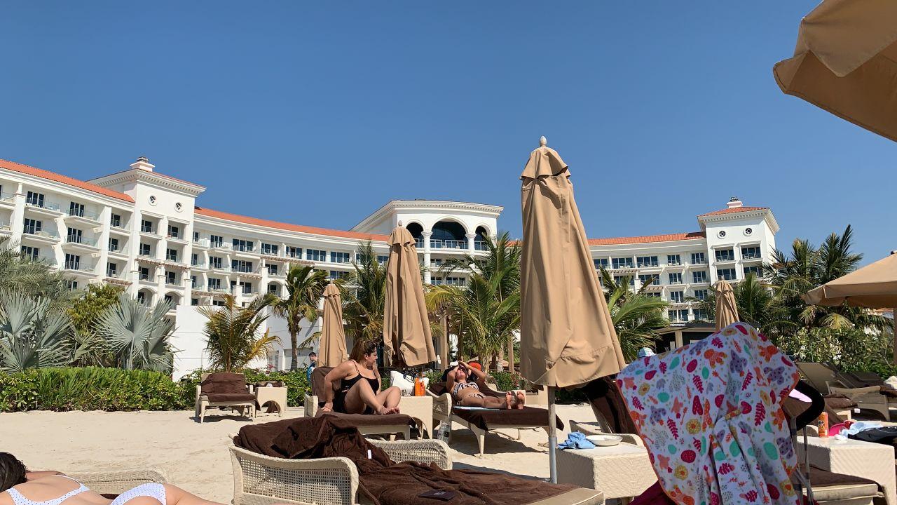 Strand Waldorf Astoria Dubai Palm Jumeirah