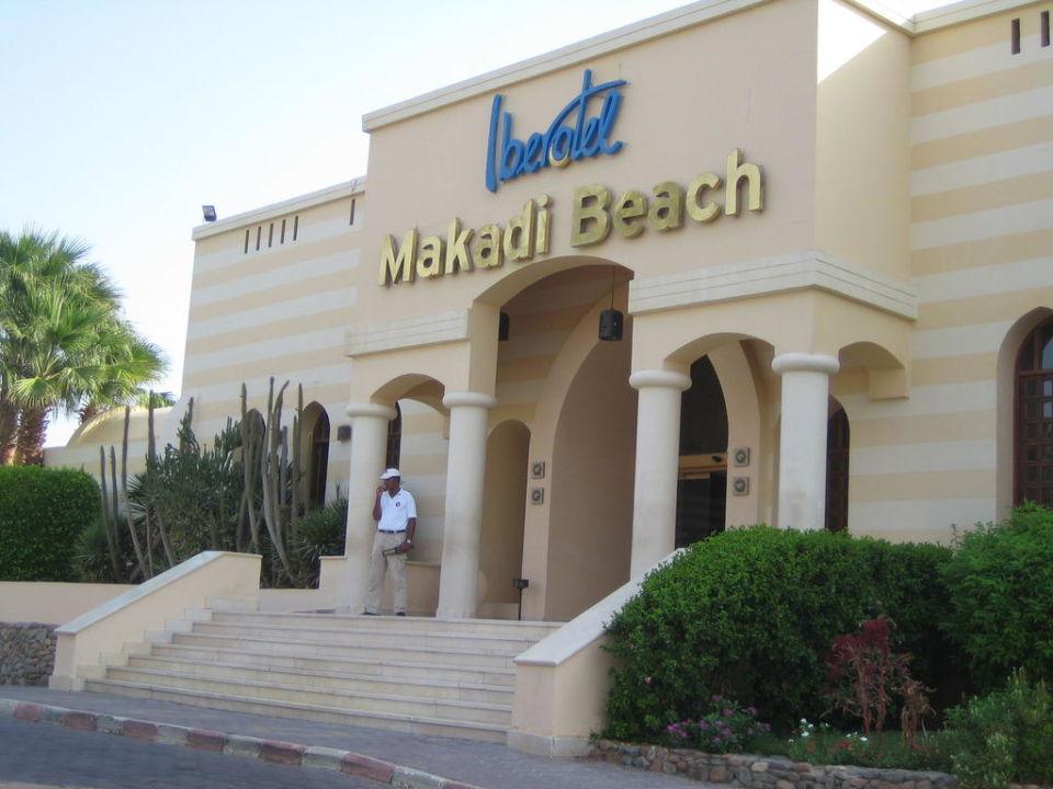 Hoteleingang Hotel Iberotel Makadi Beach