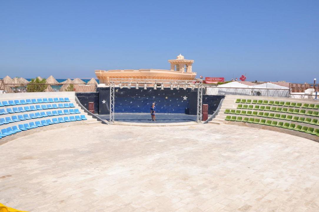 Amfiteatr przy plaży Aladdin Beach Resort