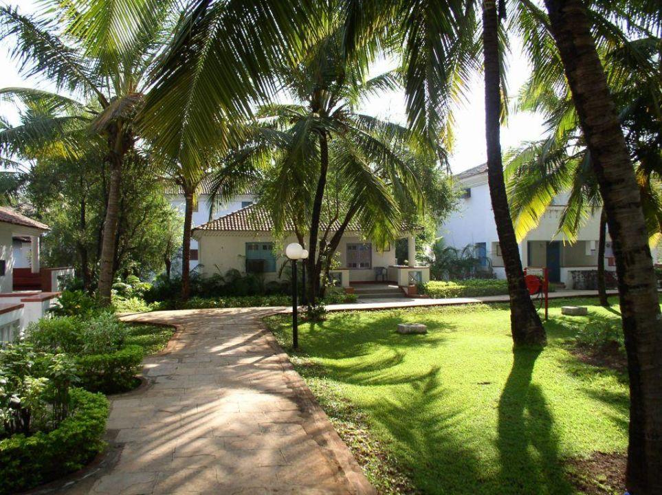 In der Anlage des Dona Sylvia Beach Resorts Novotel Goa Dona Sylvia Resort