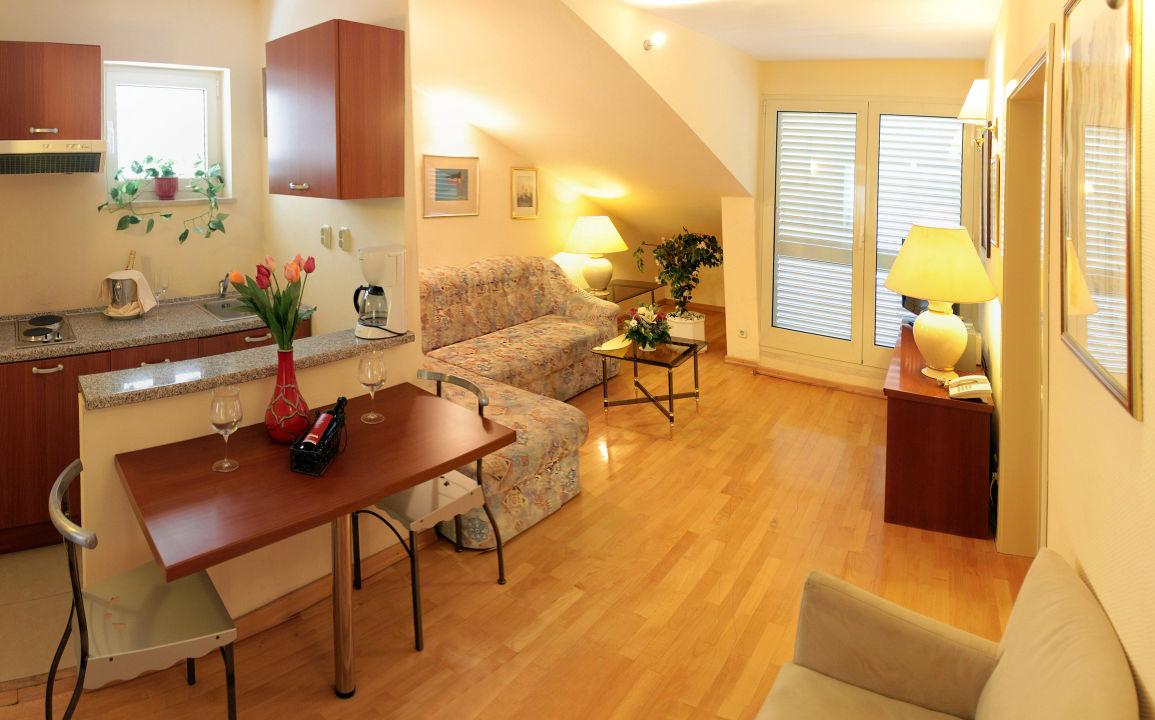 Apartment, Wohnzimmer/küche Aparthotel Park Osejava