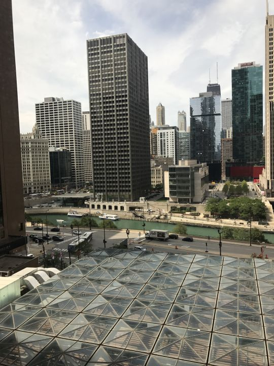 Ausblick Hotel Hyatt Regency Chicago