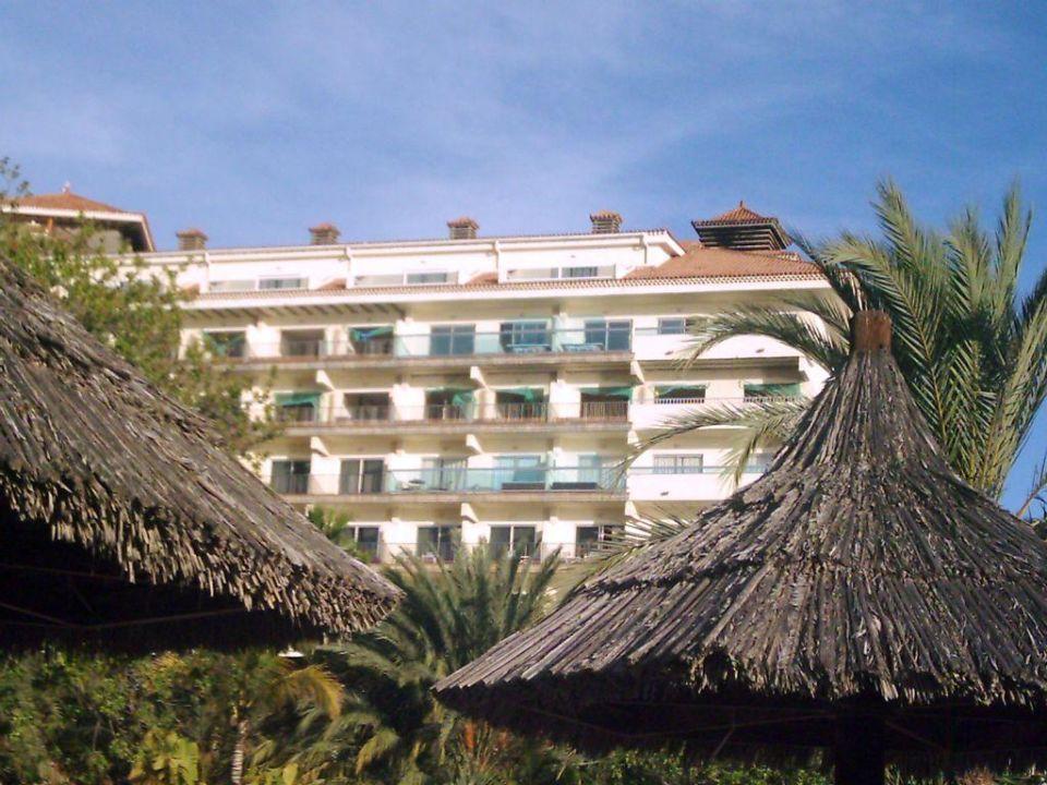 Blick vom Pool zur linken Meerseite Meliá Tamarindos