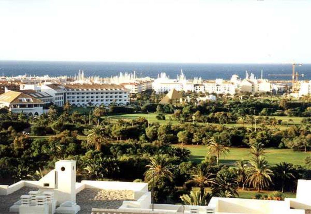 "View from the terrace of "" Villa bella vista""  of Almerimar Ferienhaus Villa Bella Vista"