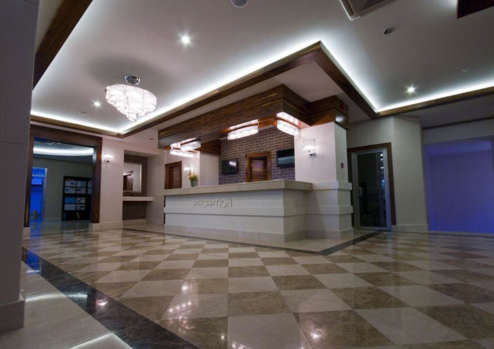 Lobby und Rezeption  Xperia Grand Bali Hotel